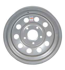 15 Inch Silver Mod Trailer Wheel - 5 lug