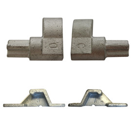 Dump Trailer Cam Lock Door Assembly Set