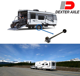 Build-To-Order Dexter RV Trailer Axle