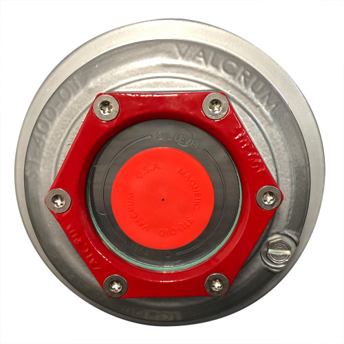 "Valcrum 4"" Universal Threaded Hub Cap - (9k/10k12k/15k Capacity Axle Application)"