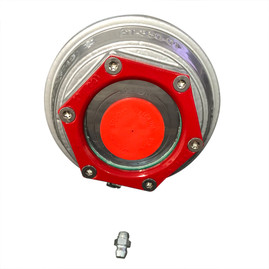 "Valcrum 3.5"" Universal Threaded Hub Cap - (9k/10k GD/#13G Capacity Axle Application)"