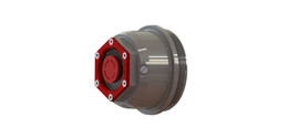 "Valcrum 3.75"" Universal Threaded Hub Cap - (10k-12k Capacity AL-KO/Hayes Axle Application)"