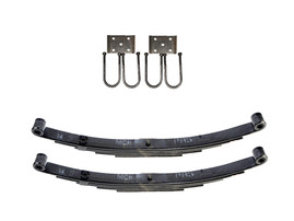 "Trailer Double Eye Spring Suspension Kit for 3"" Tube 6000 lb Axles"