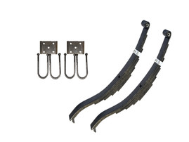 "Trailer Slipper Spring Suspension Kit for 3"" Tube 7000 lb Axles"