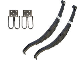 "Trailer Slipper Spring Suspension Kit for 3.5"" Tube 8000 lb Axles"