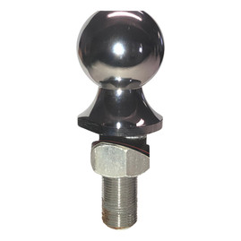 """Prime Steel 2 5/16"""" x 1 x 3-inches Trailer Tow Hitch Ball (6k Capacity)"""