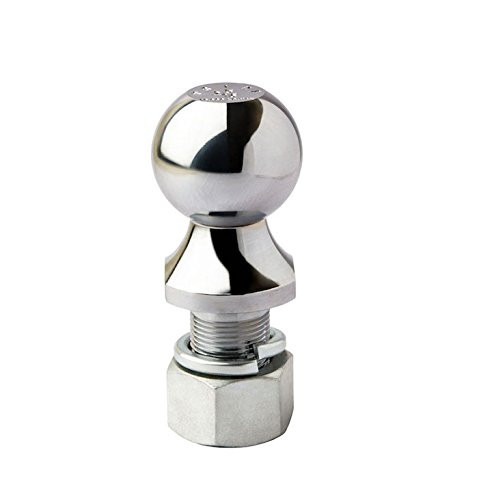 """Prime Steel 2"""" Trailer Tow Hitch Ball (3.5k Capacity)"""