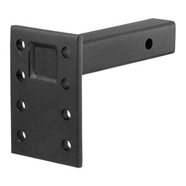 "Prime Steel 4 Position Pintle Hitch Hook Ball Mount - 2"" Receiver 7"" Rise"