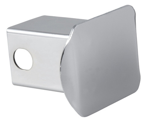 Prime Steel Chrome Trailer Tow Hitch Receiver Tube Cover (1-1/4 X 1-1/4-Inch)