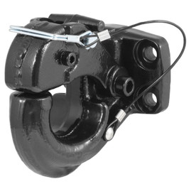 Prime Steel Black Forged Mount Pintle Hook (Standard)