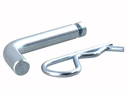 "Prime Steel 1/2"" Trailer Tow Hitch Pin & 3mm Clip Grooved"