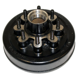 8k Trailer Axle Hub and Drum - 8000 lb Capacity - 8 lug x 6.5