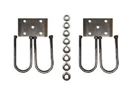 Trailer U-bolt kit for 10000 lb Axles