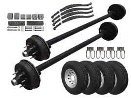 7k HD Tandem Axle TK Trailer kit - 14000 lb Capacity
