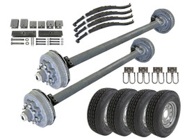8k Tandem Axle TK Trailer kit - 16000 lb Capacity