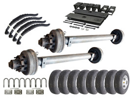 10k Tandem Axle TK Trailer kit - 20000 lb Capacity