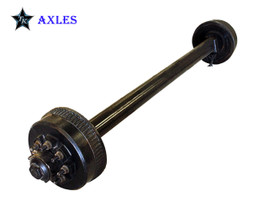 9k TK Trailer Axle - 9k Electric Brake 8 lug