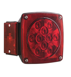 LED Combination Tail Lights -LH - Red