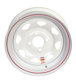 "13"" White Spoke 4x4 Trailer Wheel"