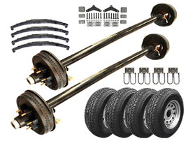 6k Tandem Axle TK Trailer kit - 12000 lb Capacity
