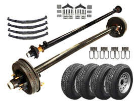 5.2k Tandem Axle LD TK Trailer kit - 10400 lb Capacity