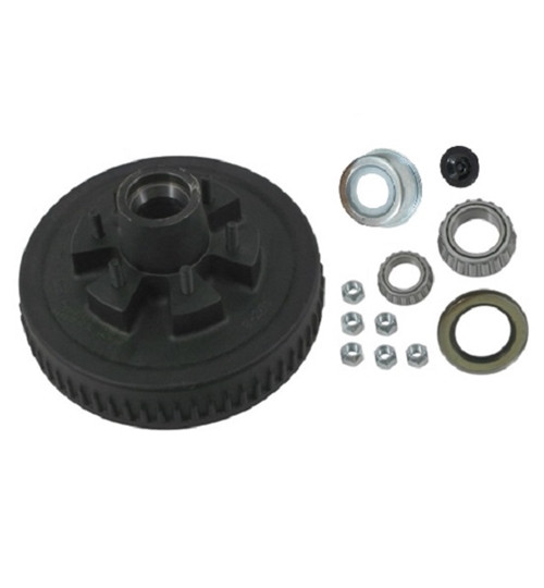 5.2k Hub and Drum Assembly - 5200 lb 6 lug ( 25580 )