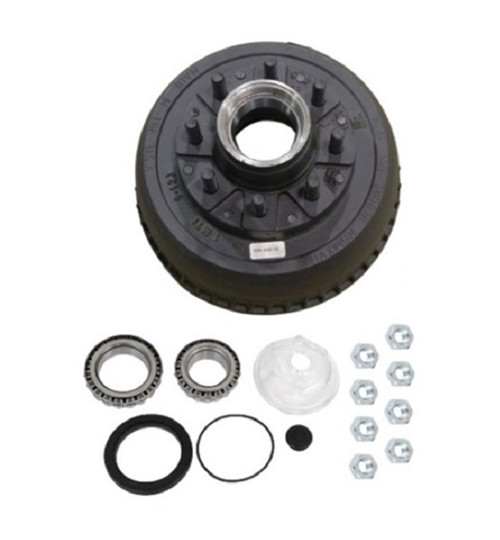 9-10KGD Trailer Axle Hub and Drum Assembly - 8 lug