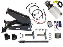 Dump Trailer Hydraulic Scissor Hoist / Lift Premium Kit - 24000 lb - PH630
