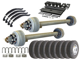 12k Tandem Axle TK Trailer kit - 24000 lb Capacity