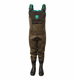 Gator Wader-Women's Throttle Series 2.0 Waders-(Leopard)