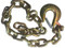 "Gold Trailer Safety Chain - 3/8 x 39"" with 1 Clevis Hook (27.4k Capacity)"