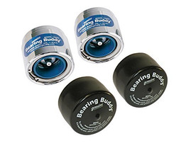 "Set of 2) Bearing Buddy Protectors - 2.717"" with Covers - (For 5.2K - 7K Axles 8 Bolt)"