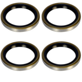 2k Trailer Axle Grease Seal - 2000lb capacity - 10-60 - (4 Pack)