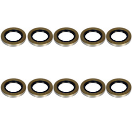 5.2-7k Trailer Axle 2.125in EZ Lube Seal - 5200-7000 lb capacity -10-10 - (10 Pack)