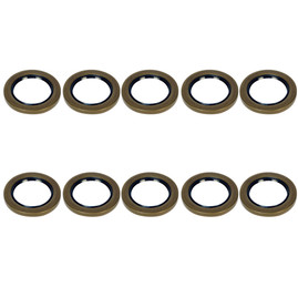 5.2-8k Trailer Axle 2.25in Grease Seal - 5200-8000 lb capacity - 10-36 - (10 Pack)