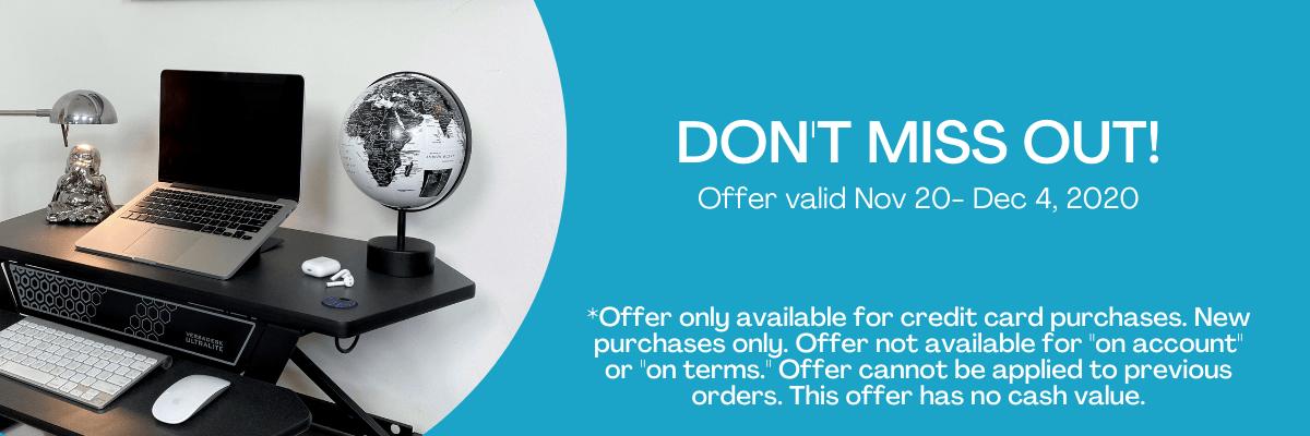 Don't Miss Out - Offer Valid Nov 20 - Dec 4