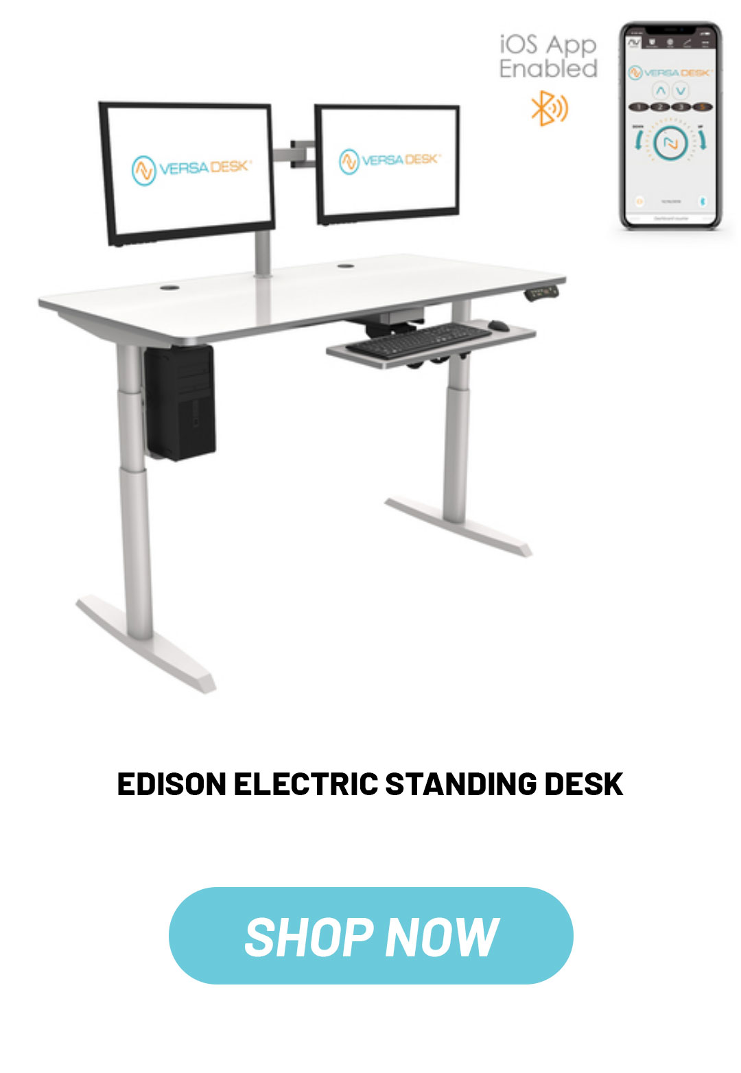 VersaDesk Edison electric standing desk