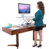 VersaDesk Power Pro Standing Desk Converter | Stand up for your health at the push of a button!