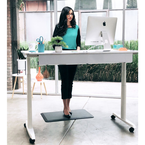 The best sit-to-stand desk with ergonomic features and programable electric height technology.