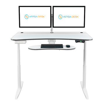 Power Lift Sit-to-Stand Desk | The best standing desk |VersaDesk