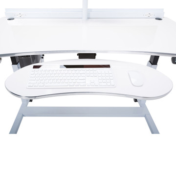 PowerLift®️ Ergonomic Keyboard Arm with Tray