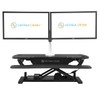 OmniView Dual Monitor Arms - Double your productivity and clean up your desk space