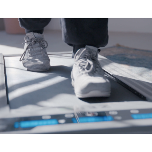 Walk while you work with the Ultra-Thin Office Treadmill
