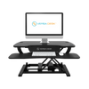 PowerPro® - Sit To Stand Electric Desk Converter With USB Charging Plug