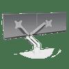 Versa Monitor Arm 2.0 Dual - White
