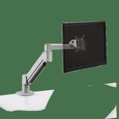 Versa Mac Monitor Arm - Silver - Front