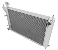 1994 95 96 Ford Mustang Champion 3 Row Core Alum Radiator