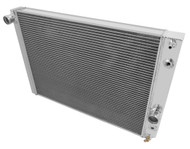 1989 90 91 92 93 94 95 96 Chevrolet Corvette Champion 3 Row Core Aluminum Radiator