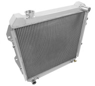 1988-1995 Toyota Pickup / 4Runner Champion 3 Row Core Alum Radiator