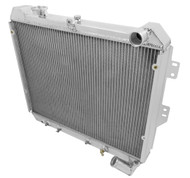 1984 1985 Mazda RX-7 Champion 3 Row Core Alum Radiator